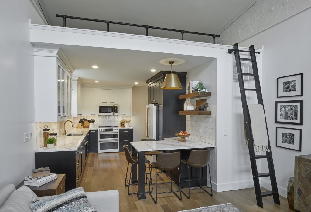 Loft Apartment with ladder